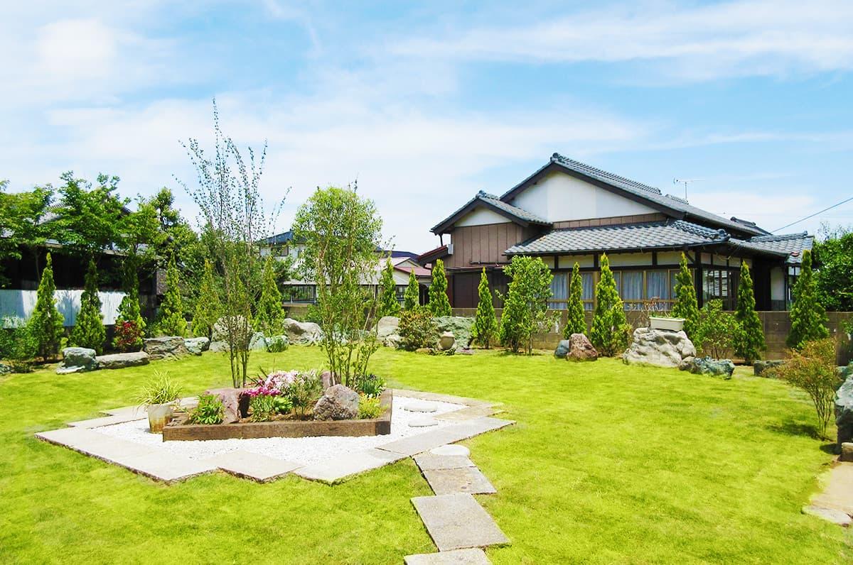 S正咲子プランニングの庭・ガーデンの施工例