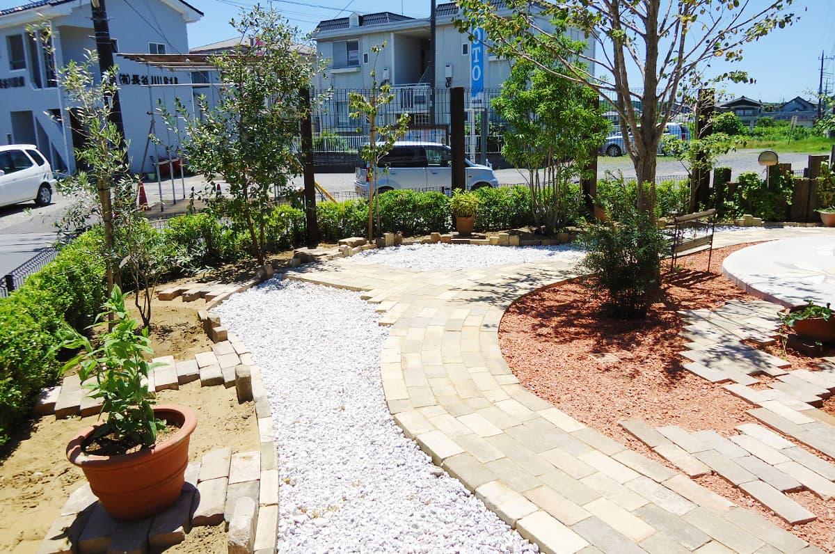 S正咲子プランニングの造園・ガーデニングの施工例