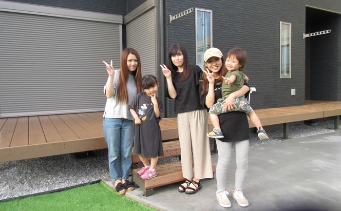 私達が正咲子さんに外構工事をお願いした理由は、まず1番に正咲子さんの人柄です。
